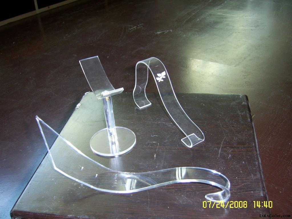 acrylic shoe rack