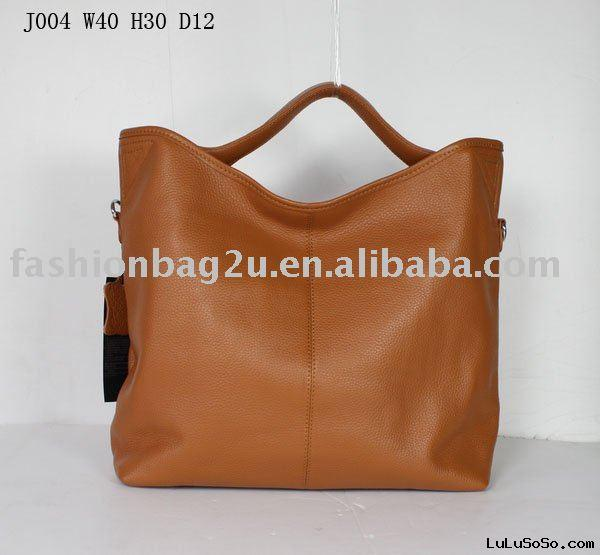authentic designer handbags  brown cowhide leather