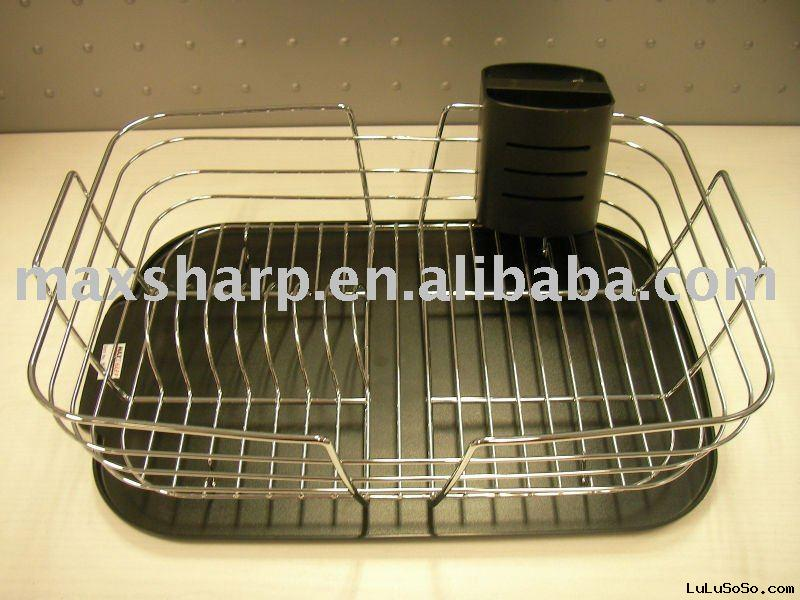 chrome wire dish rack