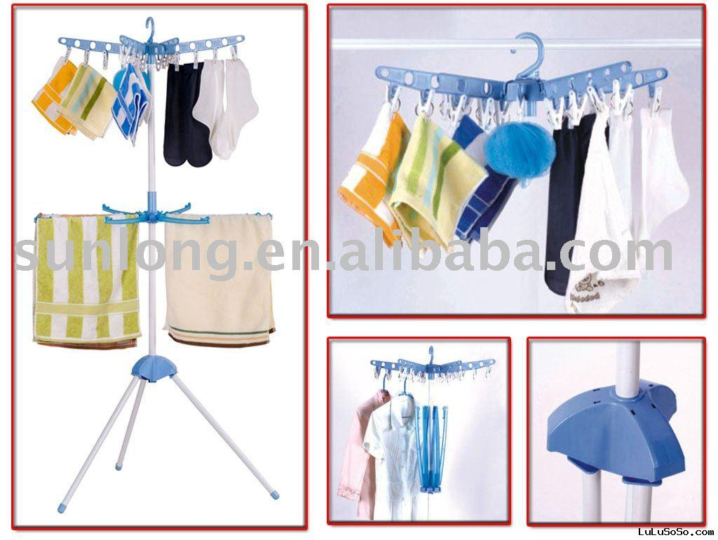 clothes dryer, clothes airer, clothes drying rack, home hanger, folding clothes hanger, Laundry