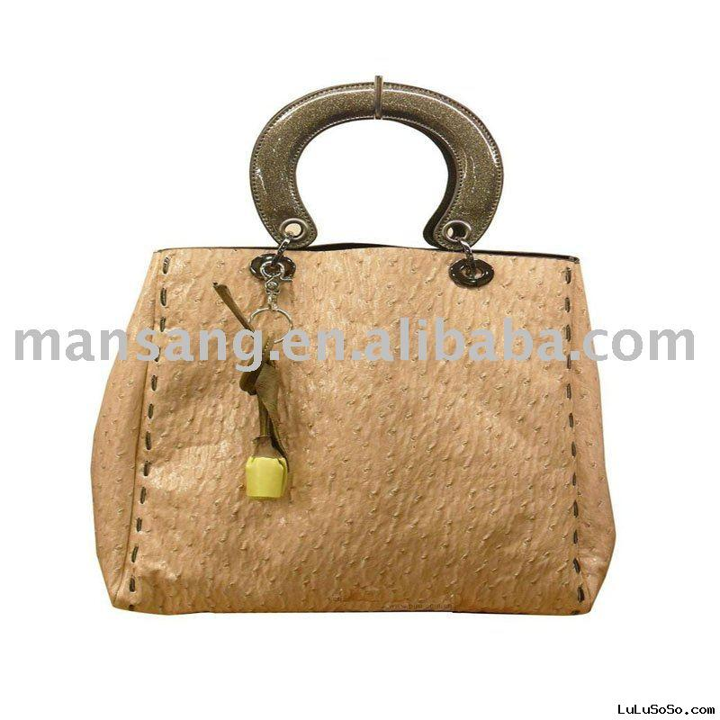 designer ladies' leather handbag