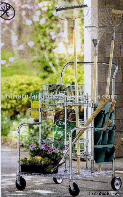 garden metal rack ,tool rack,modern display shelf,antique plant stand,decorative cart