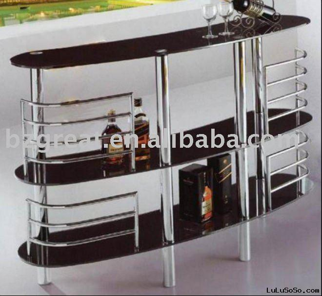 glass wine rack modern furniture