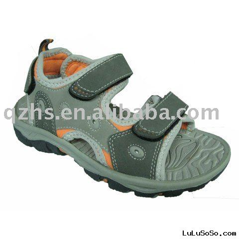 kids leather sandal shoes
