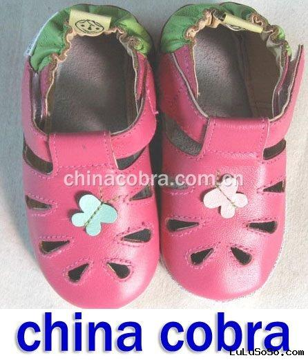 leather baby sandals ( leather baby slippers,hotsale )