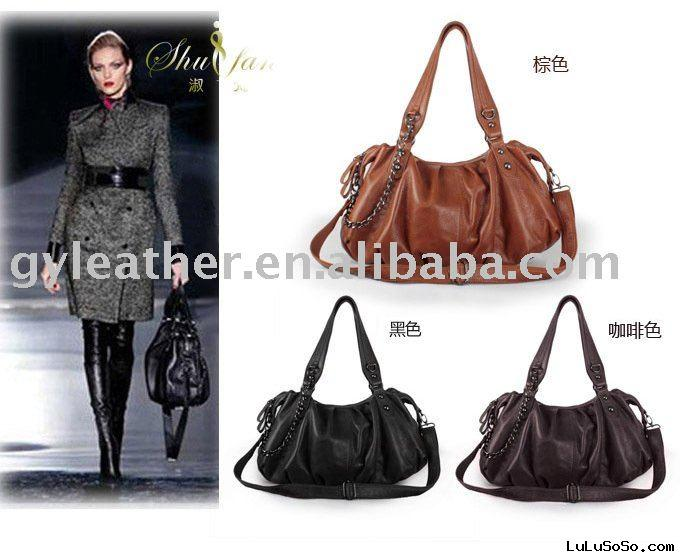 leather wholesale designer fashion handbag