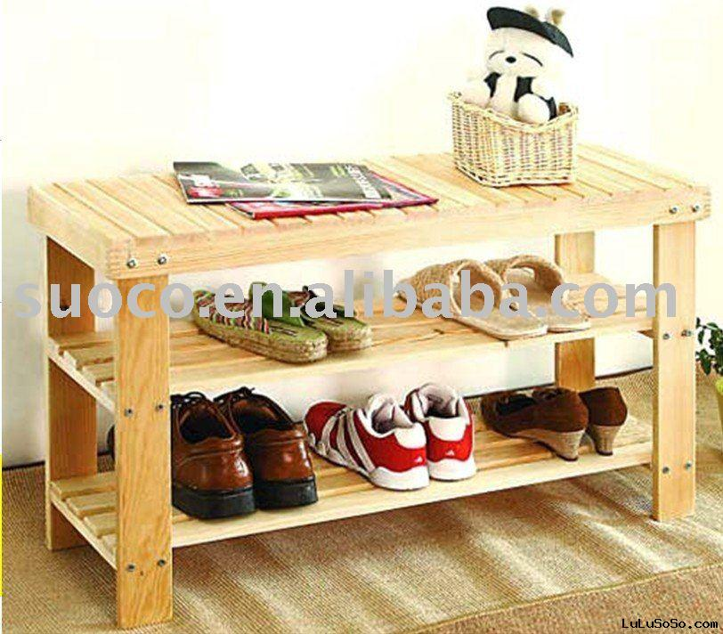shoes rack bench