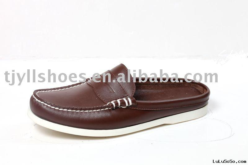 slipper  shoes,men shoes,100%GENUINE COW LEATHER SHOES