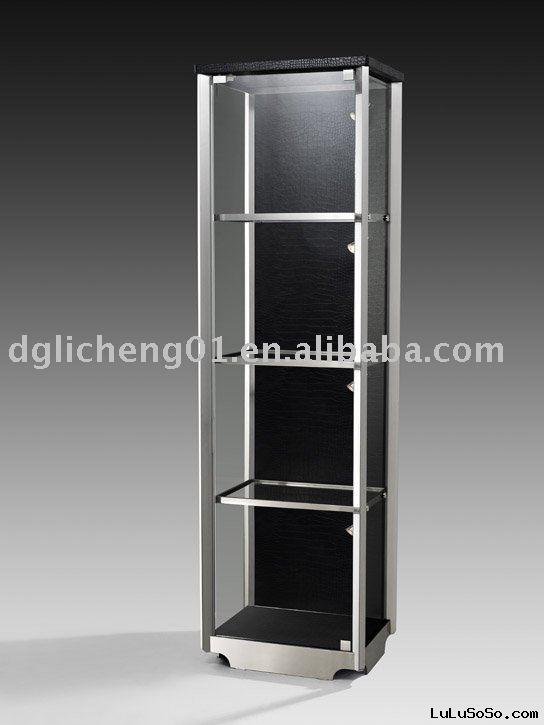 tempered glass wine cabinet