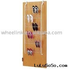 tiers metal shoe rack