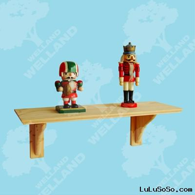 wall shelf (wooden display shelf, wooden display racks)