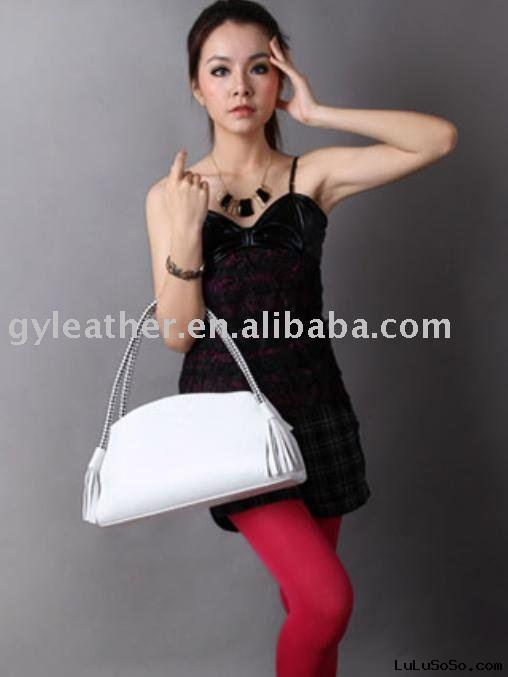 wholesale real leather designer ladies' handbag