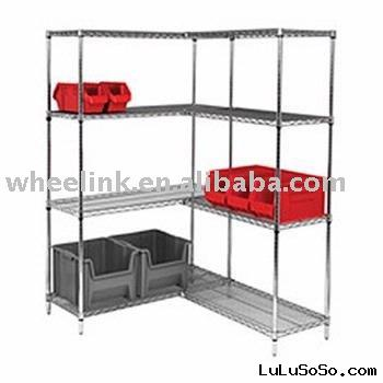 wire shelving metal rack