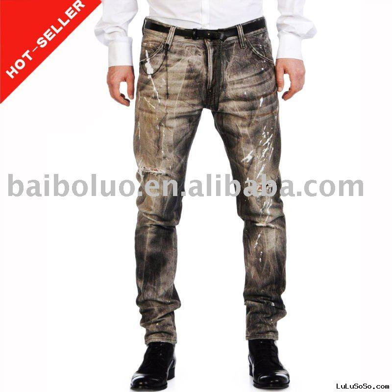 2011 New Fashion Designer Brand Man Jeans