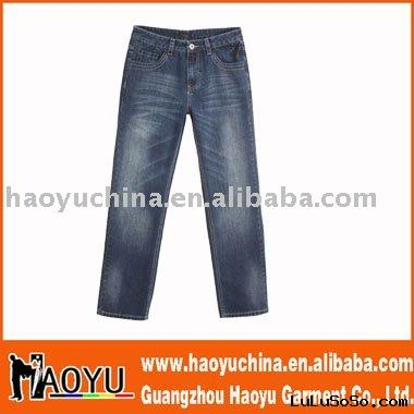 2011 latest design popular men jeans