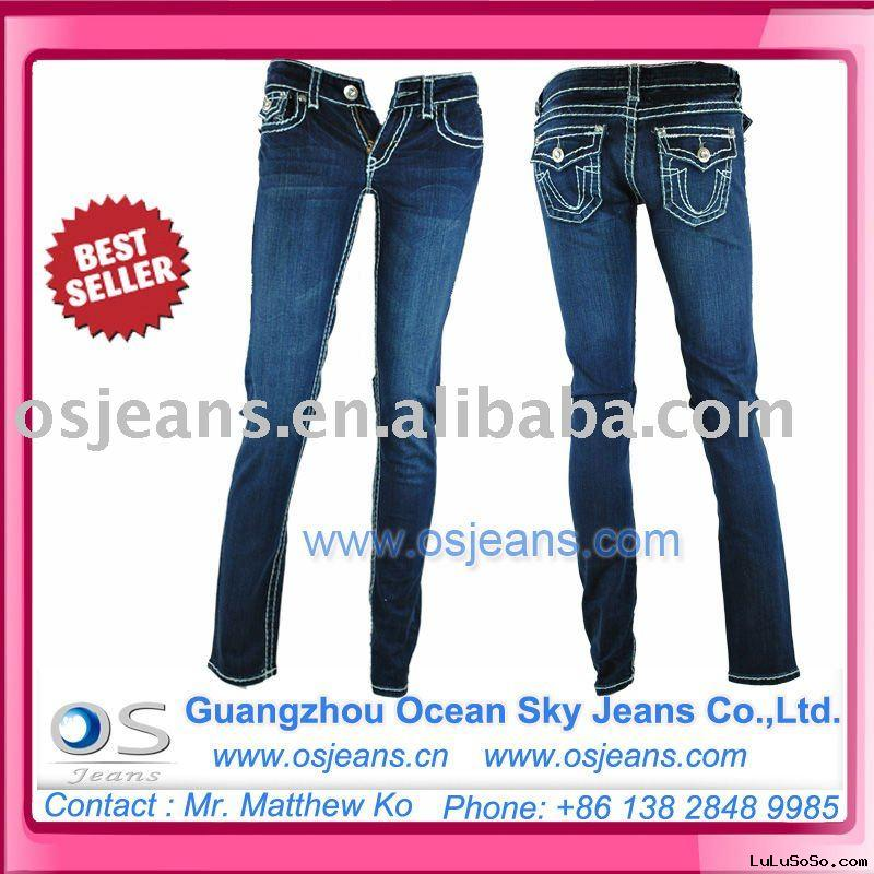 2011 new design best seller brand jeans OSW009 (sample is offered before orders)