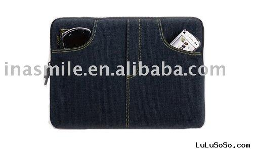 Cowboy Jeans Fabric Sleeve Bag Pouch Case for iPad PD014