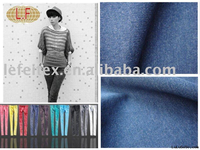 Denim  Jeans  Knitted  Fabric