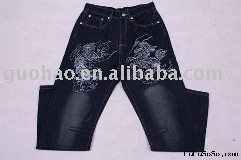 Hip pop Jeans,designer jeans,men's jeans,fashion denim jeans,men's downwear,trousers