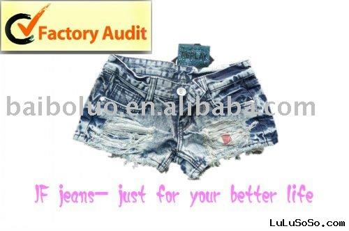 Hot Short Ladies Jeans (BBL-S2) Jeans Factory