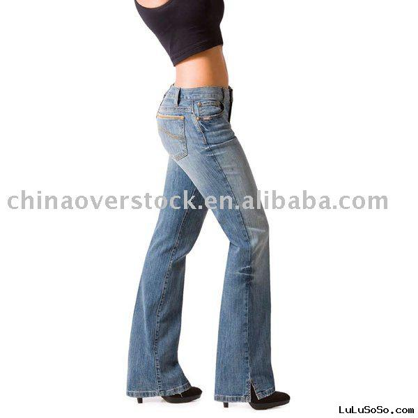 Overstock/stocklot/drop ship women's jean+India/Africa market+lowest price