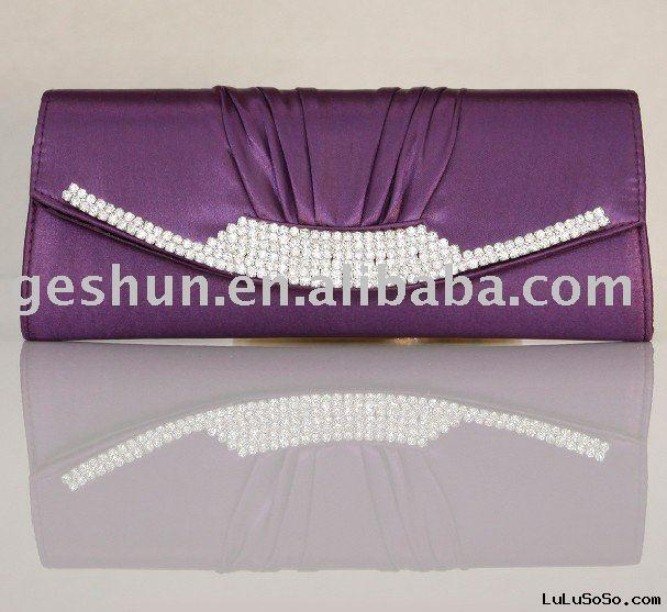 Purple designer handbags