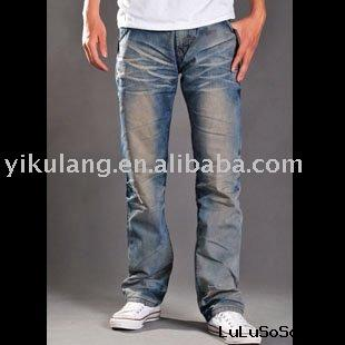 denim jeans  (antique washing)