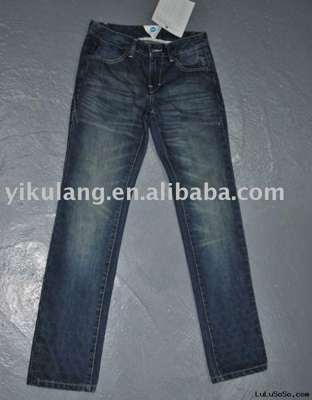 ladies' denim  jean