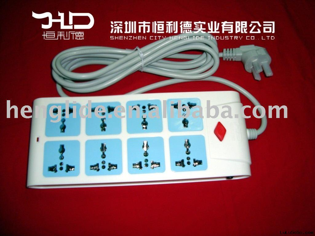 socket and  outlet
