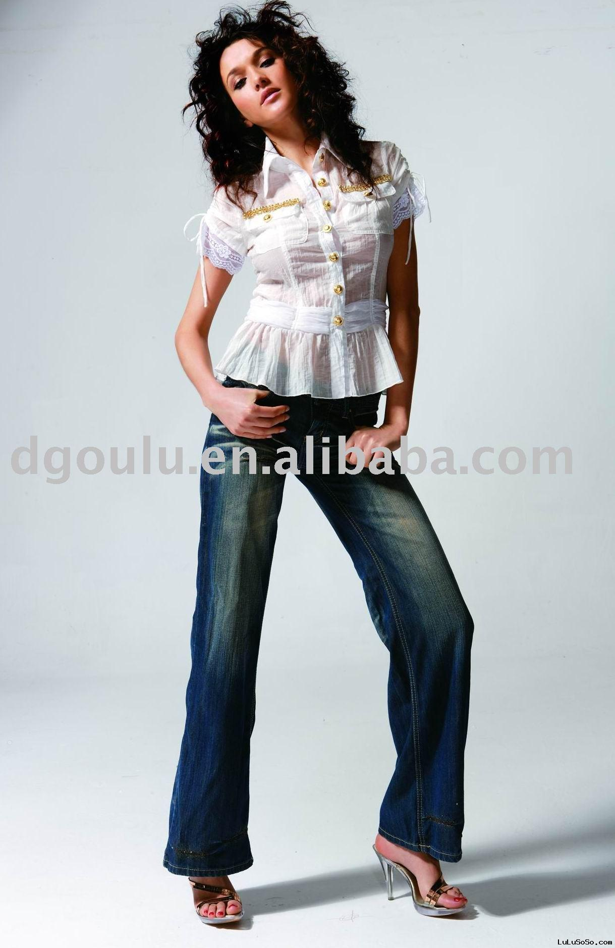 2009 Fashion ladies' blouse, ladies' garment, women clothing