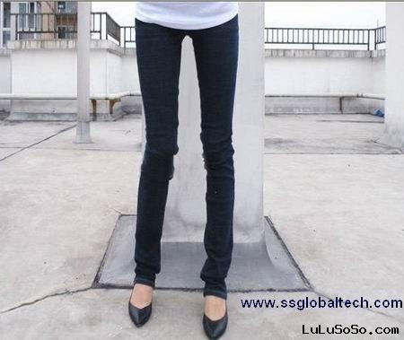 2011 NEW STYLE DARK BLUE STRETCHABLE TIGHT FIT LADIES SKINNY JEANS WSK803B