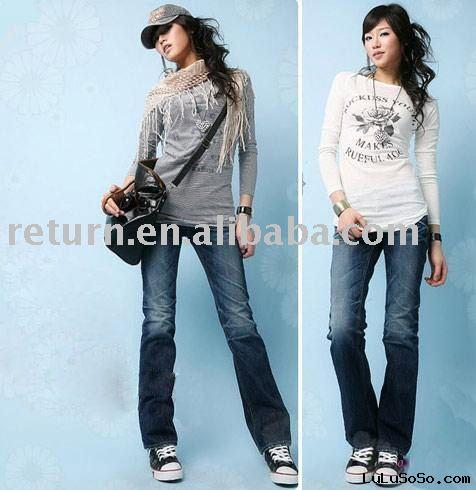 2011 hot sell  new designer fashion jeans for men (HY1032)