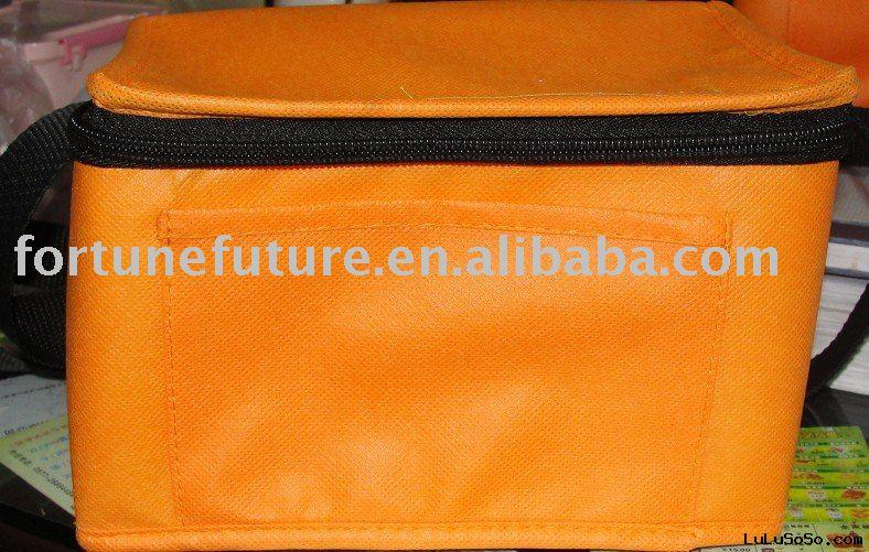 6 cans tnt ,nonwoven fabrics insulated cooler bag