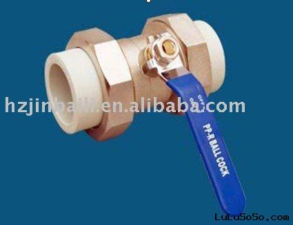 BRASS DOUBLE UNION BALL VALVE(C 20)