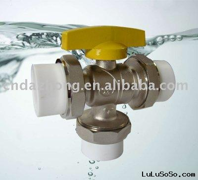 Brass Three Way Ball Valve(ZZ-1810)