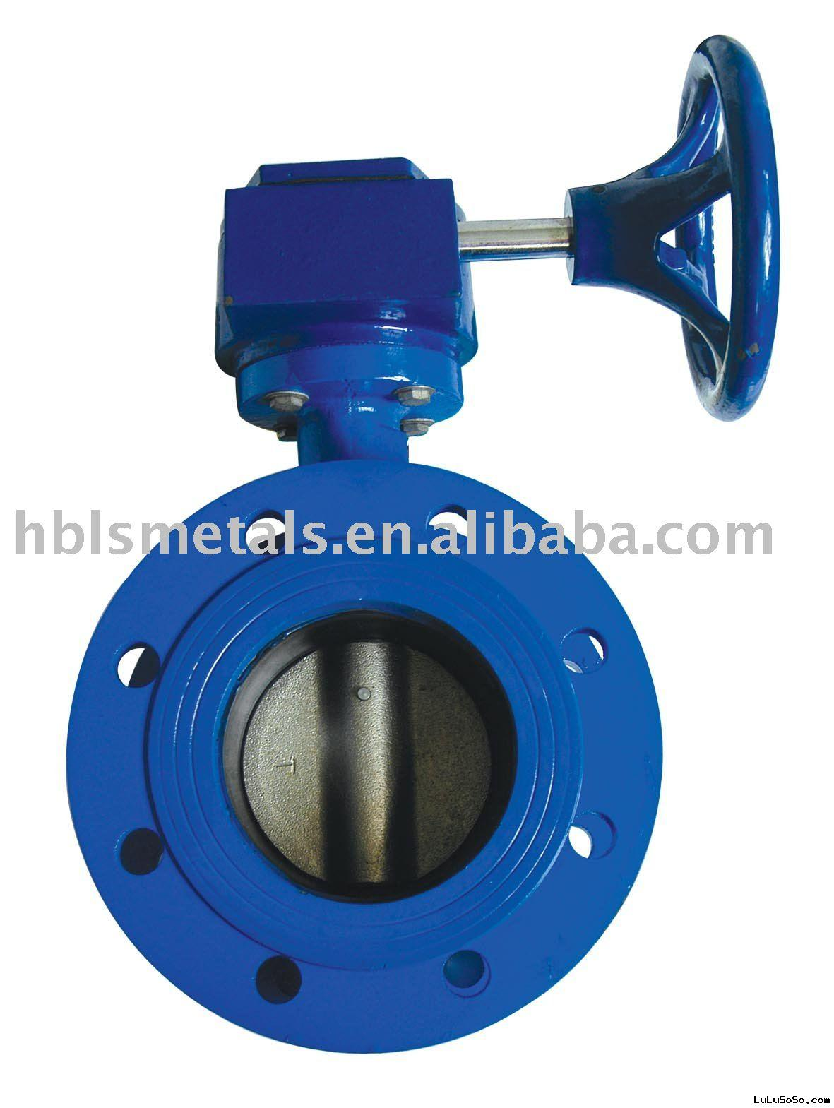 Butterfly Valves Double Flanged