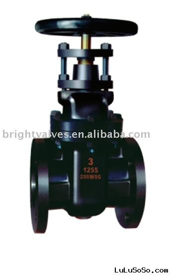 Class 125 NON-Rising Stem Solid Wedge Disc cast iron gate valve