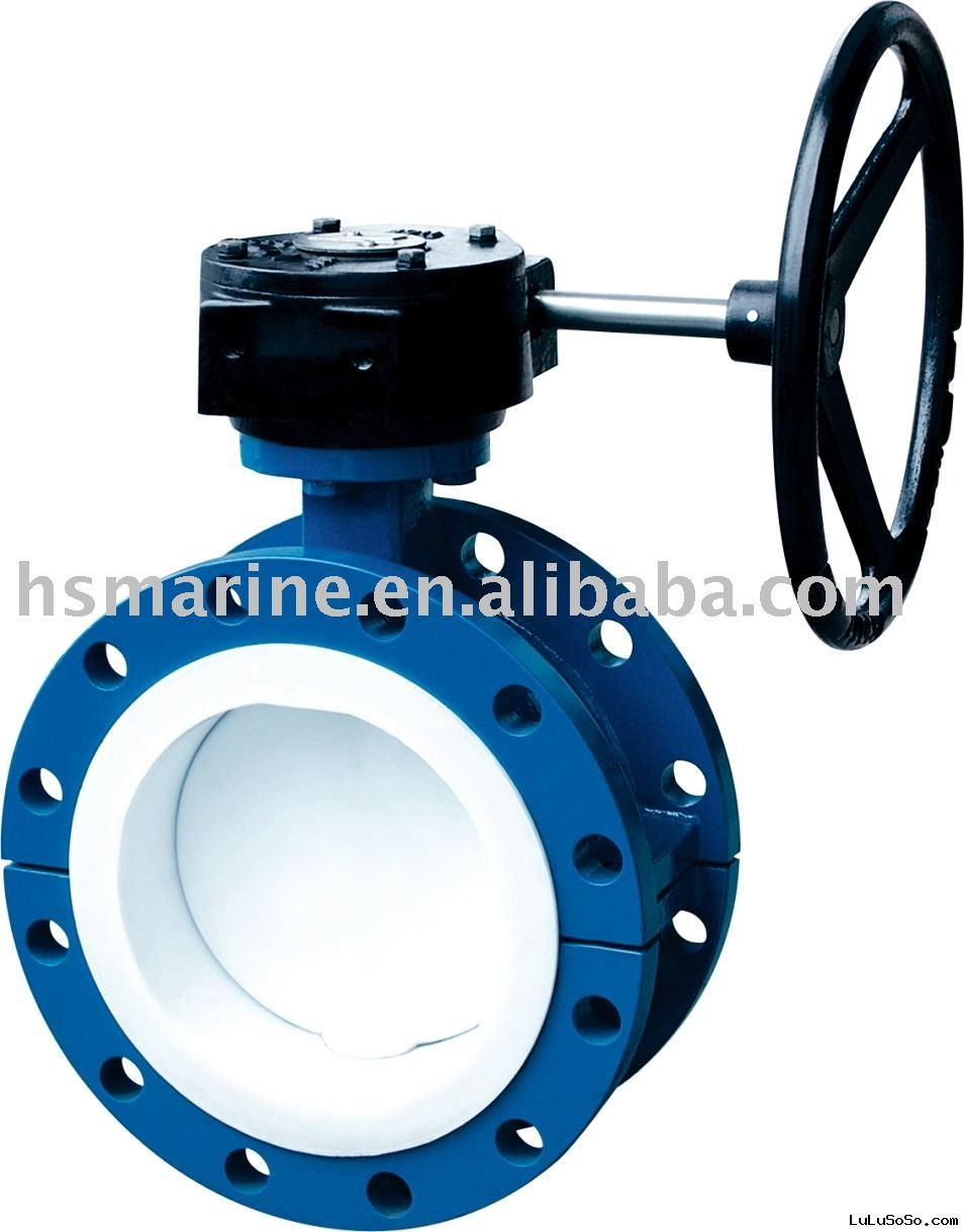 Double flanged Butterfly valve series