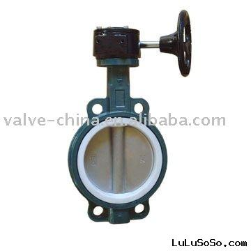 Gear Operated Ductile Iron Butterfly Valve