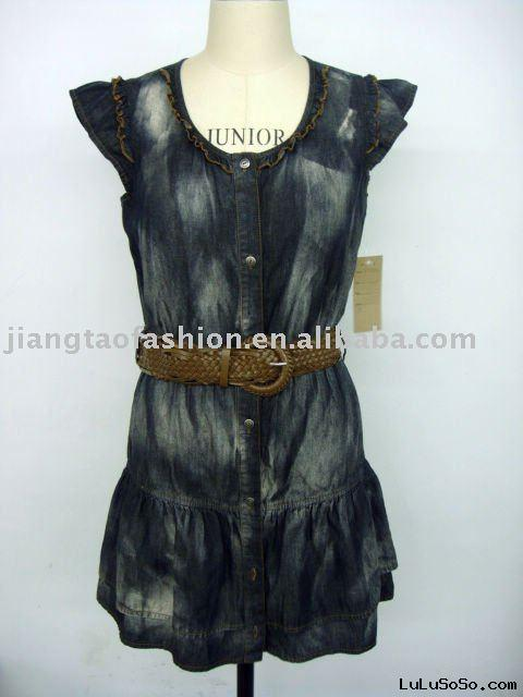 Ladies fashion jean dress