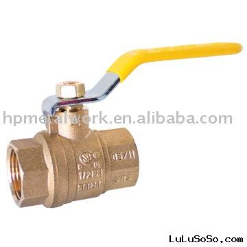 NSF Brass Ball Valve NPT, with CSA, UL FM Approvals