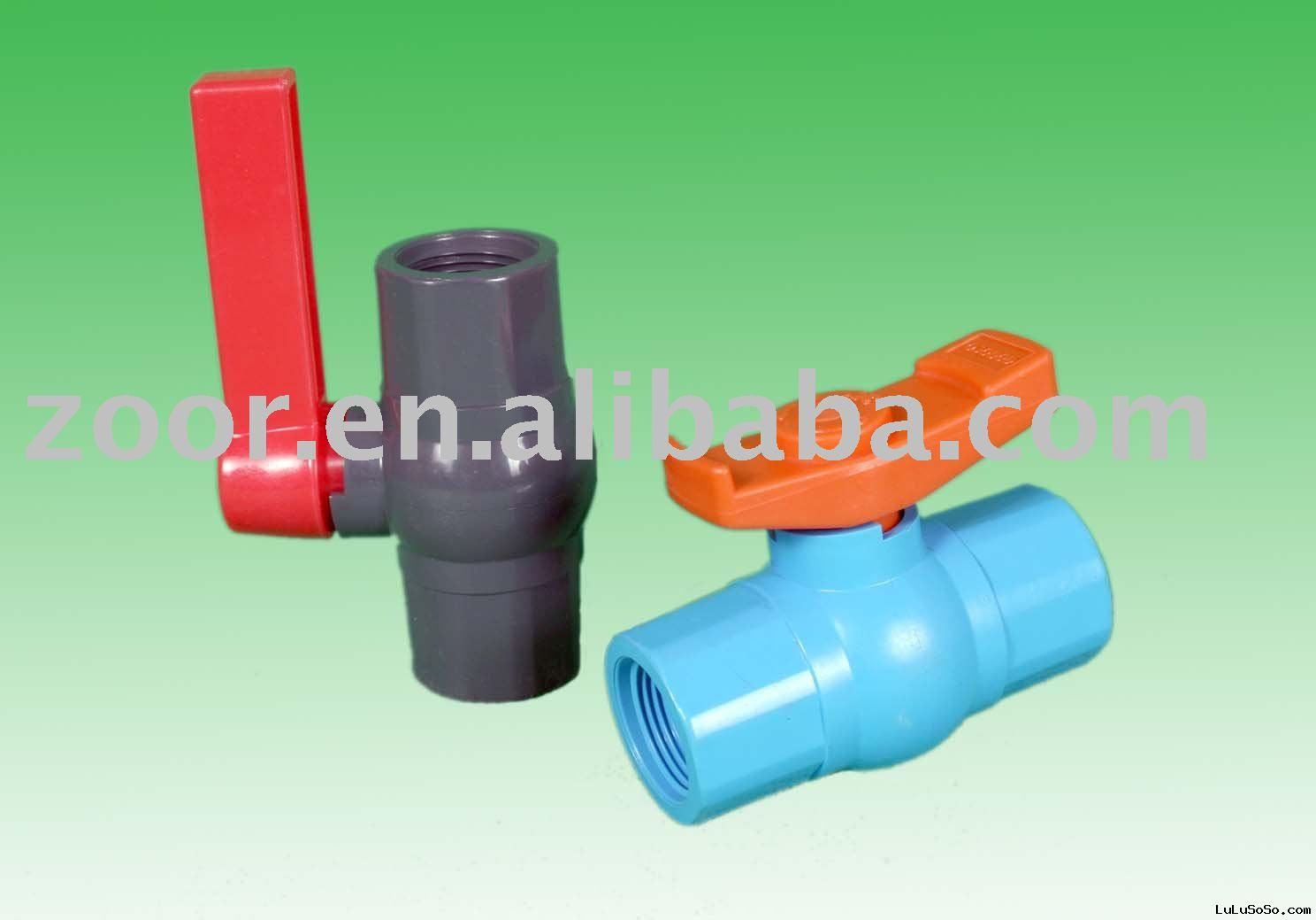 PVC ball valve(plastic ball valve,water valve)