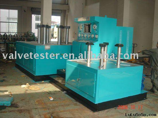 YFJ-D Type Valve Hydraulic Test Bench For Butterfly Valves