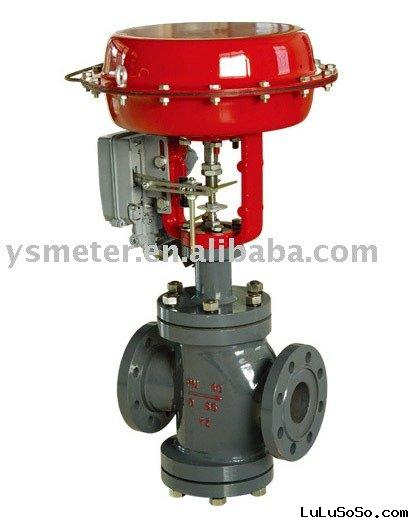 ZXN Pneumatic Diaphragm Double-Seated Regulating Valve three way valve globe valve