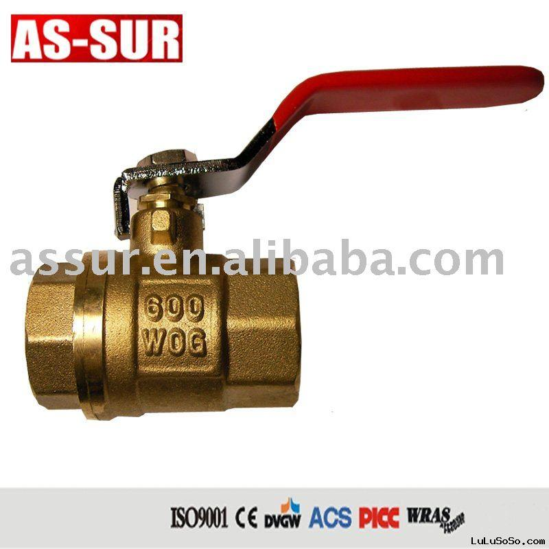 brass ball valve 600wog