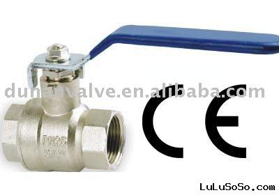 china brass ball valve for water CE manufucturer