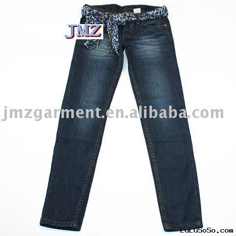 ladies high fashion European stylish denim jeans