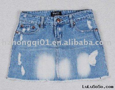 latest ladies' summer jeans skirts, women's skirts for 2010-2011