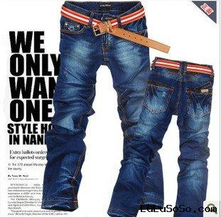 man fashion jeans
