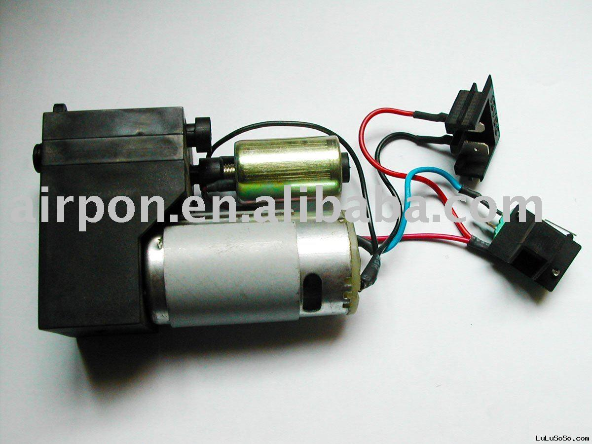 12 volt high pressure motor electronic air pump with solenoid valve